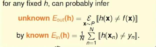弹珠模型中的错误率与机器学习样本错误率