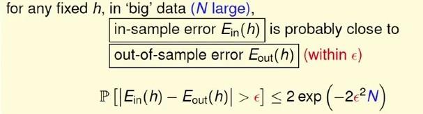 Hoeffding不等式在机器学习中的应用